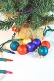 Орнаменты рождественской елки Стоковое Изображение