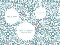 Орнаменты рождества пузырей вектора красочные иллюстрация вектора