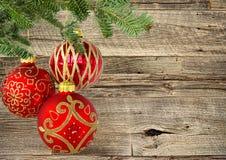 Орнаменты рождественской елки Стоковое Фото