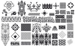 орнаменты собрания Стоковое Фото