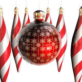 орнаменты украшений рождества Стоковое Изображение RF