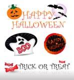 орнаменты halloween стоковое фото rf