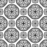 Орнамент Оriental абстрактный традиционный Стоковое фото RF