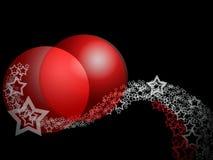 орнамент абстрактного рождества шикарный Стоковое фото RF