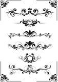 орнамент абстрактной конструкции флористический Стоковые Фотографии RF