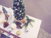 Орнамент безделушки украшения Xmas рождественской елки Стоковое Изображение