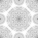 Орнамент безшовного вектора традиционный Стоковое фото RF