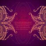 Орнамент бронзы шнурка Grunge. Стоковое Изображение
