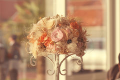 Орнамент букета цветка Стоковое фото RF