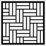 Орнамент вектора квадратный иллюстрация вектора