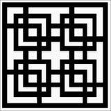 Орнамент вектора квадратный иллюстрация штока