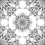 Орнамент года сбора винограда вектора Стоковые Изображения RF