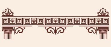 Орнамент грека вектора иллюстрация вектора