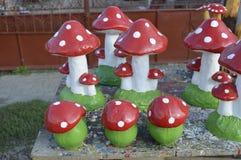 Орнамент гриба Стоковое Изображение RF