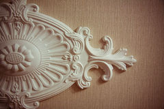 Орнамент глины для интерьера стоковые фотографии rf