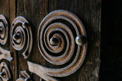 орнамент двери стоковая фотография