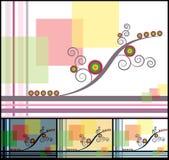 орнамент диско цвета иллюстрация штока