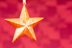 Орнамент звезды рождества Стоковые Фото