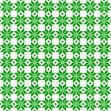 Орнамент зеленого Белорусского священный этнический, безшовная картина также вектор иллюстрации притяжки corel Словенский традици Стоковые Фотографии RF