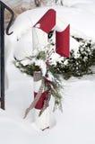 Орнамент зимы Стоковые Изображения