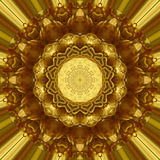 Орнамент золота Стоковое фото RF