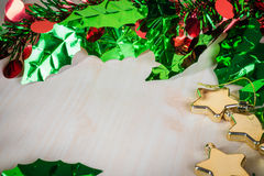 Орнамент и украшение рождества для празднуют Стоковые Фотографии RF