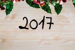 Орнамент и украшение рождества для празднуют Стоковые Изображения