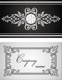орнамент карточки иллюстрация штока