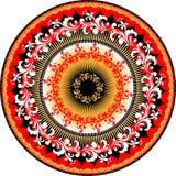 орнамент круга Стоковые Фотографии RF