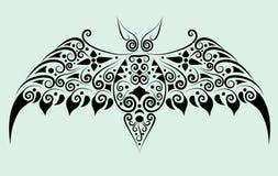 орнамент летучей мыши декоративный Стоковое Изображение