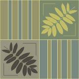 орнамент листьев Стоковые Фотографии RF
