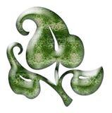 орнамент листьев Стоковое Изображение