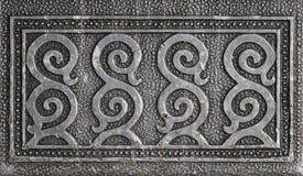 орнамент металла Стоковое Фото