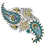 Орнамент орнамента красивый с мандалой Стоковая Фотография