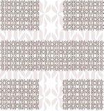 Орнамент от лепестков (коричневый цвет) Стоковое Изображение RF