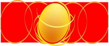 орнамент пасхального яйца Стоковая Фотография RF
