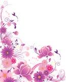 орнамент предпосылки флористический Бесплатная Иллюстрация