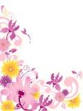 орнамент предпосылки флористический Иллюстрация штока