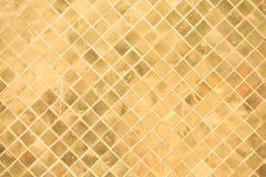 Орнамент прямоугольника золота стоковые фото