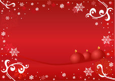 орнамент рамки рождества Стоковые Изображения RF
