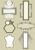 орнамент рамки декора запрета шикарный этнический Стоковая Фотография