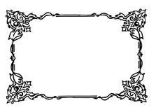 орнамент рамки Стоковое Фото