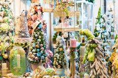 Орнамент рождества, дизайн дерева xmas декоративный Стоковая Фотография RF