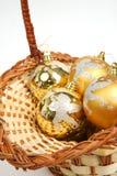 орнамент рождества Стоковое Изображение