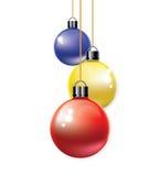 Орнамент рождества шарика Стоковые Изображения RF
