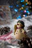 орнамент рождества Стоковая Фотография RF