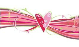 орнамент сердец Стоковые Фотографии RF
