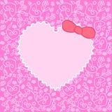 орнамент сердца сверх Стоковое Изображение