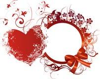 орнамент сердца Стоковые Изображения RF