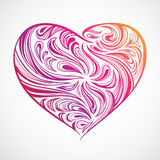 орнамент сердца Стоковые Изображения